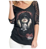 BLUSA MANGA 3/4  LOST LOVE