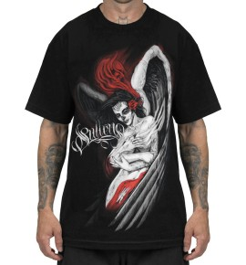 CAMISETA EMBRACE BLK/RED