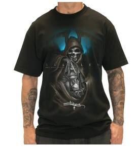 CAMISETA  GRIM  BLACK/BLUE